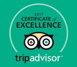 TripAdvisor 2017 Certificate of Excellence Winner